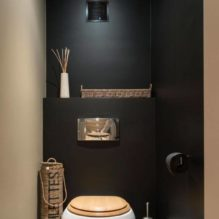 toilette abattant bois